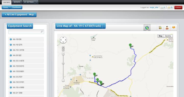 Gps Based Vehicle Tracking System Eagle Eye Freelance