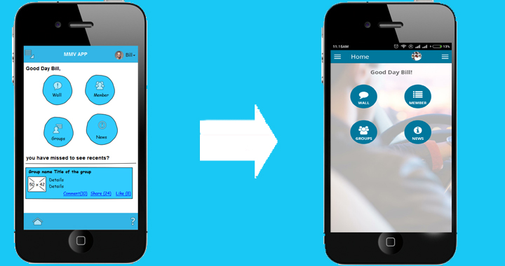 ionic hybrid app