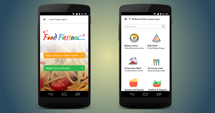 Food and Restaurant Mobile App